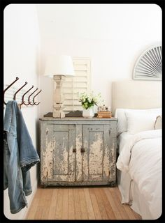 #cabinet  I love the ancient-of-days look but am not sure I want to sleep next to it.