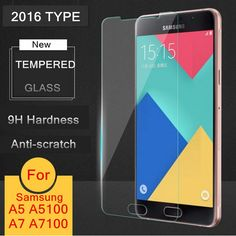 HOT! NEW 2.5D 9H Premium Tempered Glass For Samsung Galaxy 2015 2016 Edition A3/A5/A7/J3/J5/J7 Screen Protector Film