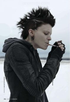 Girl With The Dragon Tattoo.