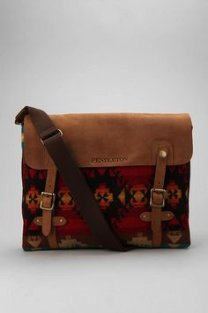 Pendleton Patterned Messenger Bag  #UrbanOutfitters ---  love this bag, even though it's supposedly for a man!