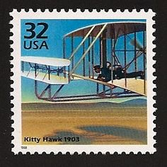 Dec. 17, 1903: Orville and Wilbur Wright made the first successful man-powered airplane flight, near Kitty Hawk, N.C.