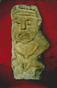 Sheela-na-Gigs: Ireland's mysterious genital sculptures - BBC News Blood Magick, Human Life Cycle, Medieval Tower, Irish Mythology, Sculptures, Lion Sculpture, Old Irish, Erin Go Bragh, Irish Culture