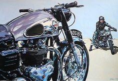 Ton-Up culture un blog dedicado a las motos clásicas, cafe racer, música y cine. Ton up culture is a thematic blog, of classic motorcycles, cafe racer, vintage stuff, music and cinema Ton-Up Culture