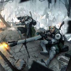 Retribution Heavy Rifle Crew by N-ossandon-Nezt.deviantart.com on @deviantART