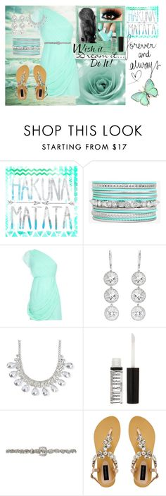 """""""Touch Of The Sea"""" by lights-camera-ashley ❤ liked on Polyvore featuring beauty, Alice + Olivia, Andrea Fohrman, claire's, Lord & Berry and Forever New"""