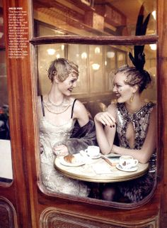 "GOOSHNESS: US VOGUE GRACE CODDINGTON'S ""The Twenties Story Fashion Shoot"" for the September Issue, 2007!"