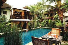 it'd be like your very own tropical vacation in your backyard.