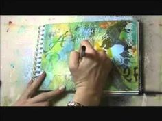 Tulip Products Graffiti Art Journal Page Part 2 of 2
