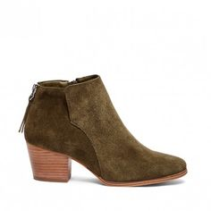 Army Ankle Bootie | River | Free Shipping on Orders $50+