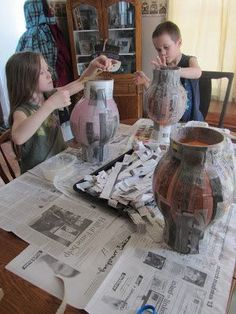 Unlikely homeschool how to make an ancient grecian urn
