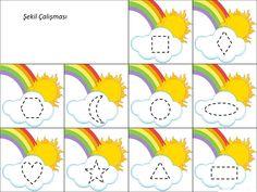 10 En Iyi Gökkuşağı Görüntüsü Math Activities Math Problems Ve