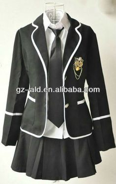 newest hot sale long sleeve japanese high school uniform middel school uniform $15~$32