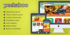 Pekaboo – Children Daycare, School Responsive WordPress Theme