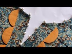 Easy V Placket Neck Design Cutting and Stitching || Neck Design For Kurti/Suit - YouTube