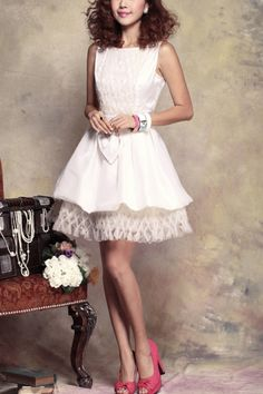 Exquisite Mini Ruched Detail Sleeveless Dress OASAP.com $156.00