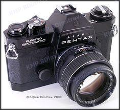 Electro Spotmatic SLR film camera