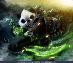 Pandaren Rouge by zjone