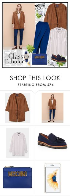 """Your Signature Power Look♥♥3"" by marthalux ❤ liked on Polyvore featuring MANGO, Vika Gazinskaya, Stuart Weitzman, Moschino, Vivienne Westwood, Victoria Beckham and powerlook"