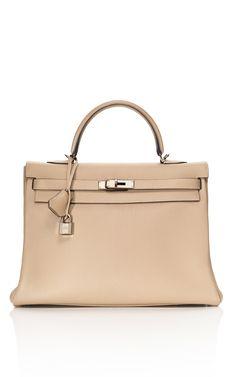 Hermès 35cm Dove Grey Togo Leather Kelly.