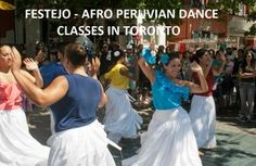 FESTEJO - AFRO PERUVIAN DANCE CLASSES!! In this class, you will learn a highly energetic and sensual dance which is the most representative dance genre of the black coastal population of Peru - Afro Peruvian Folklore Dance.  http://www.inspiracionlatina.com/lessons.html