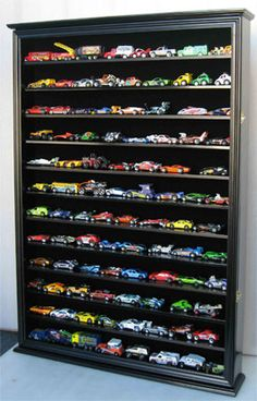 Large Hot Wheels Display Case - Would this help keep me from stepping on cars in the living room?