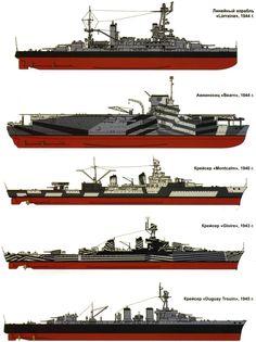 корабли французского флота