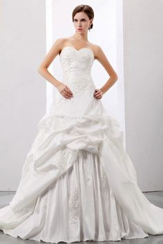 Princess Sweetheart Wedding Dress