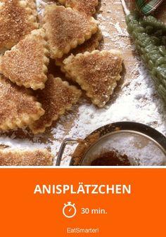 Anisplätzchen - smarter - Zeit: 30 Min.   eatsmarter.de Eat Smarter, Cornbread, Ethnic Recipes, Desserts, Muffins, Food, Christmas, Ginger Beard, Oven