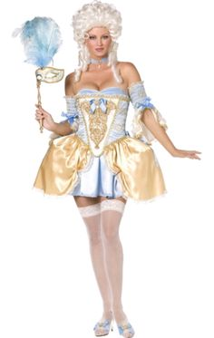 Fever Baroque Fantasy Costume | Jokers Masquerade