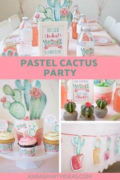 Pastel Cactus Party