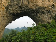 Lauras travels in Moon Hill near Yangshuo, China captured this amazing photo.
