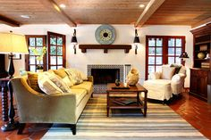 Earlmont House - mediterranean - family room - los angeles - Stephanie Wiley Photography
