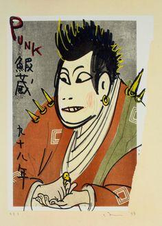 Yoshitomo Nara's Punk Rock Mixtape - W magazine