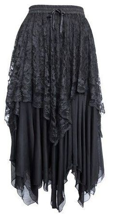 Dark Star Gothic Zig-Zag Hem Lace Net Layered Skirt DS/SK/5429 Womens Halloween Samhain Solstice Witch Fairy Festival Steampunk Goth Jordash, http://www.amazon.co.uk/dp/B008K3QJ18/ref=cm_sw_r_pi_dp_aKGmtb1P121NQ