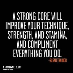 A strong core compliments everything you do. #strength #stamina ...