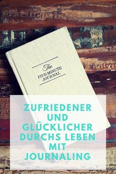 Glücklich und zufriedener sein? Das klingt doch gut. Was Journaling ist, was ich gemacht habe und was es mir gebracht hat, zeigen wir dir.