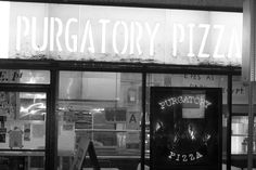 Purgatory Pizza -- A fabulous pizzeria that offers vegan pizza and desserts too. Free delivery over fifteen dollars. Downtown Los Angeles