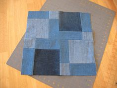 I am not a quilter, but here is my attempt at a quilt for one of my son's for Christmas.  I wanted to make a denim quilt for him since I STI...