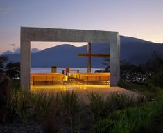 Local studio EMC Arquitectura designed Cardedeu for a grassy plot on a mountain that runs down to the shores of the Coatepeque lake – a volcanic basin in western El Salvador.