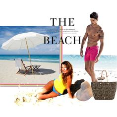 """Beach A.V"" by dauer-rr on Polyvore"