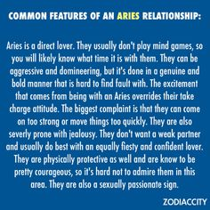 Signs an aries man wants a relationship with you