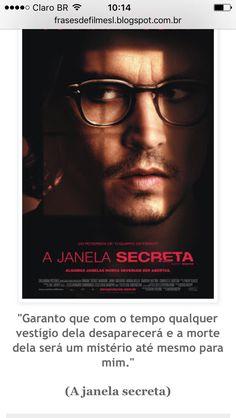 Filme: A janela secreta