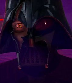 Star Wars Rebels : Twilight of the apprentice. This right here says so much. That look just screams of how much they wish to going back to the old days. It's so sad.