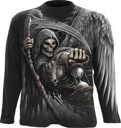 Hoodie Black Crow//Death//Forest//Skulls//Gothic//Biker Spiral Direct DARK ROOTS