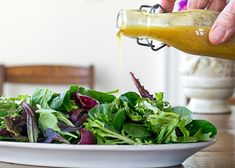 Curry Salad Dressing is unique and flavorful with soybean oil, curry powder, lemon, garlic, & Worcestershire sauce. You will want to triple this recipe because it is equally delicious on a simple salad of greens or a heartier salad. Turkey Recipes, Chicken Recipes, Cabbage Recipes, Rib Recipes, Kale Recipes, Baked Chicken, Potato Recipes, Curry Salad Dressing Recipe, Great Recipes