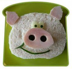 sándwiches creativos para niños 6