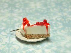 Food Jewelry Miniature Food Earrings Cherry by kawaiibuddies, $22.00