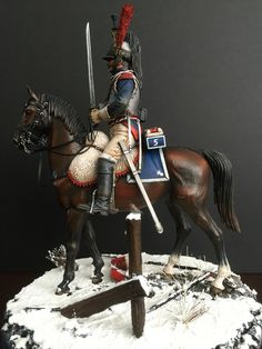 MiniArt French Cuirassier - cuirassier at Eylau 1807 Military Figures, Horse Sculpture, Napoleonic Wars, Toy Soldiers, Cavalier, 18th Century, Diorama Ideas, Miniatures, Hand Painted