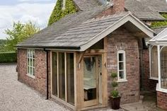 Super Garage Remodel To Family Room Exterior Ideas Garage Remodel, Exterior Remodel, Cottage Extension, House Extensions, Kitchen Extensions, Barn Kitchen, Barn Renovation, Back Doors, House Front
