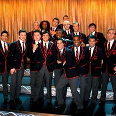 the warblers were my favorites, they dont make music, they make fucking magic